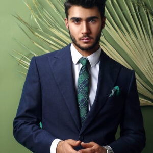 Ready when you are | Dark Navy suit .
