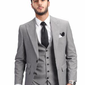 Ready when you are | Grey suit .